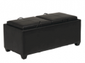 Totally Furniture: 59% Off Espresso Storage Ottoman