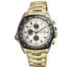 Timepieces USA: 78% Off Drivemaster Gold Chonograph Men's Watch