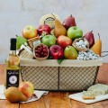 The Fruit Company: Legacy Cheese Basket For $84