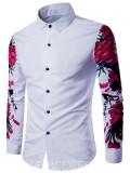 Ericdress: 42% Rabatt Auf Ericdress Langarm-Blumendruck Beiläufige Männer Hemd