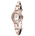 Timepieces USA: 85% Off Ladies Silhouette Leather Watch Only