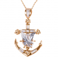 Timepieces USA: 56% Off Anchor And Eagle Pendant