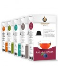 Gourmesso: $4.9 Off Tea Bundle - 200 Capsules