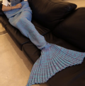 RoseWholesale: Chic Women's Fishtail Knitted Blankets And Throws(2 Colors)