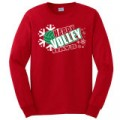 AllVolleyball: Happy Volleydays Long Sleeve T-Shirt $12.99