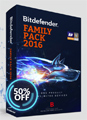 BitDefender: 50% Off Family Pack 2016