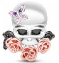 Gnoce: 61% Off Blooming Skull Charm